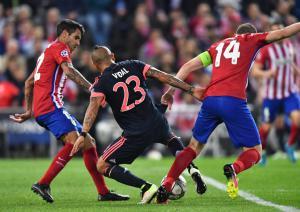 Vidal Atletico Madrid vs. Bayern München